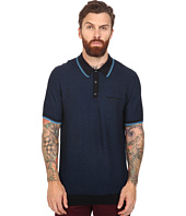 Ben Sherman - Short Sleeve Texture Micro Jacquard Polo