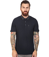 Ben Sherman - Short Sleeve Micro Paisley Print Collar Polo