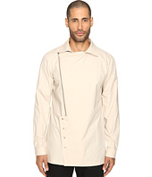 D.GNAK - Oblique Zip-Up Shirt