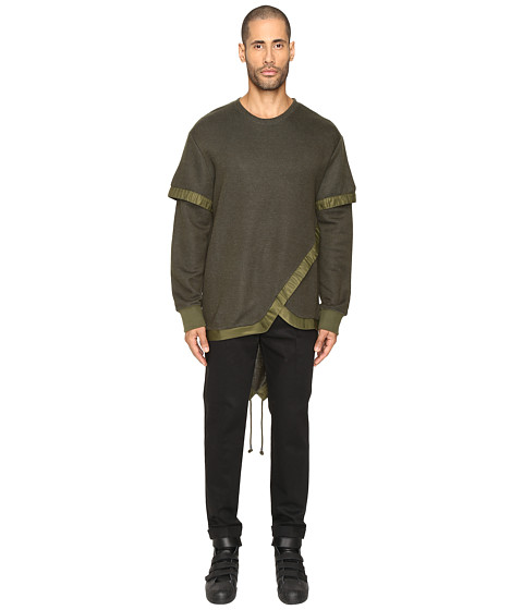 D.GNAK Layered Fish Tail Pullover