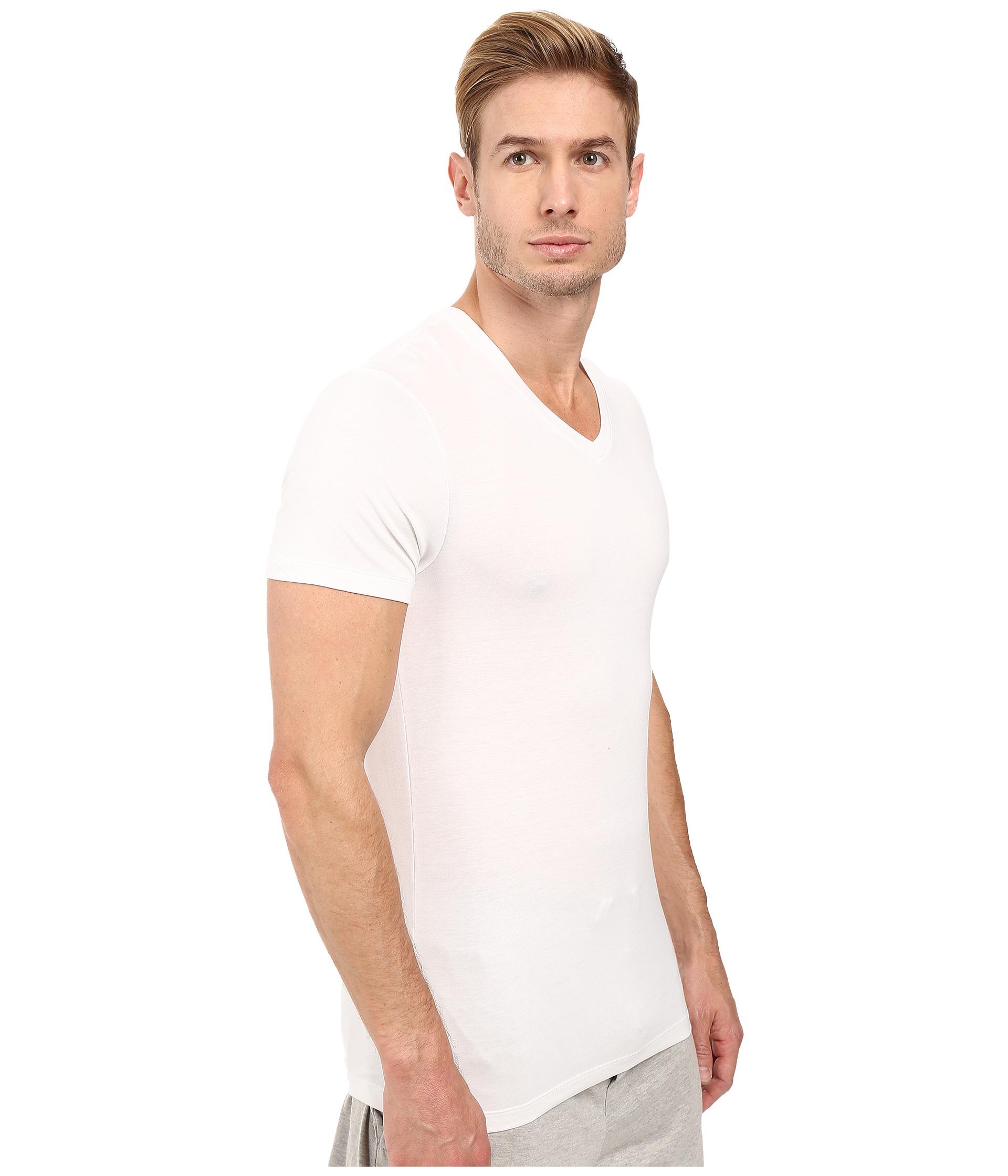 michael kors luxury modal v neck t shirt free. Black Bedroom Furniture Sets. Home Design Ideas