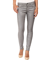 AG Adriano Goldschmied - Leggings Ankle in Leatherette Light Cloud Grey