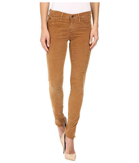AG Adriano Goldschmied Leggings in Sulfur Toffee Brown - Sulfur Toffee Brown