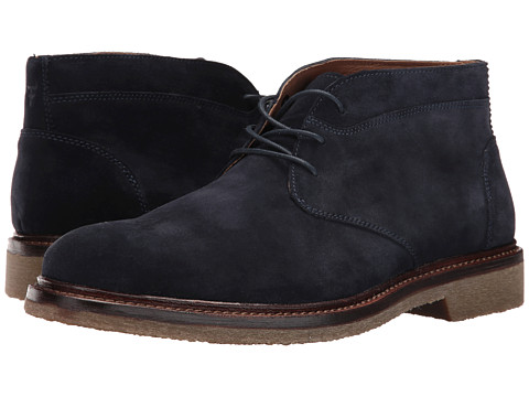 Trask Colton - Navy Water Resistant Suede
