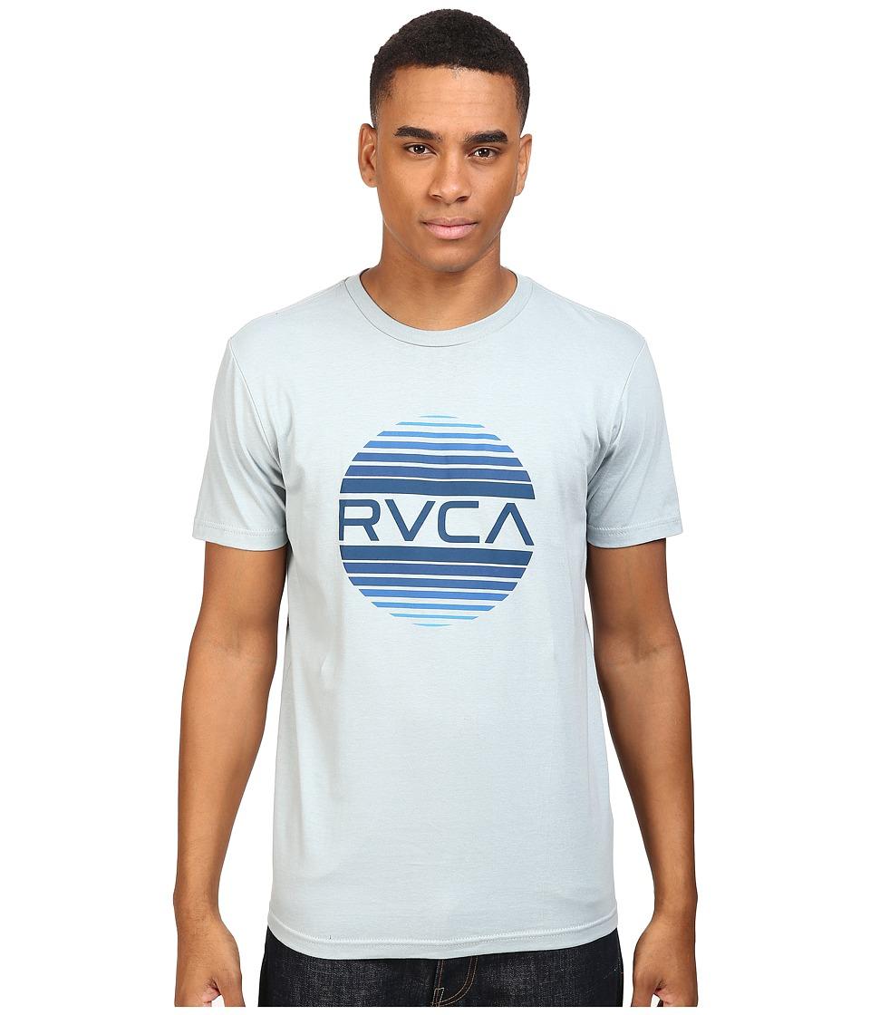 RVCA Sanborn Gradient Tee (Arona Blue) Men