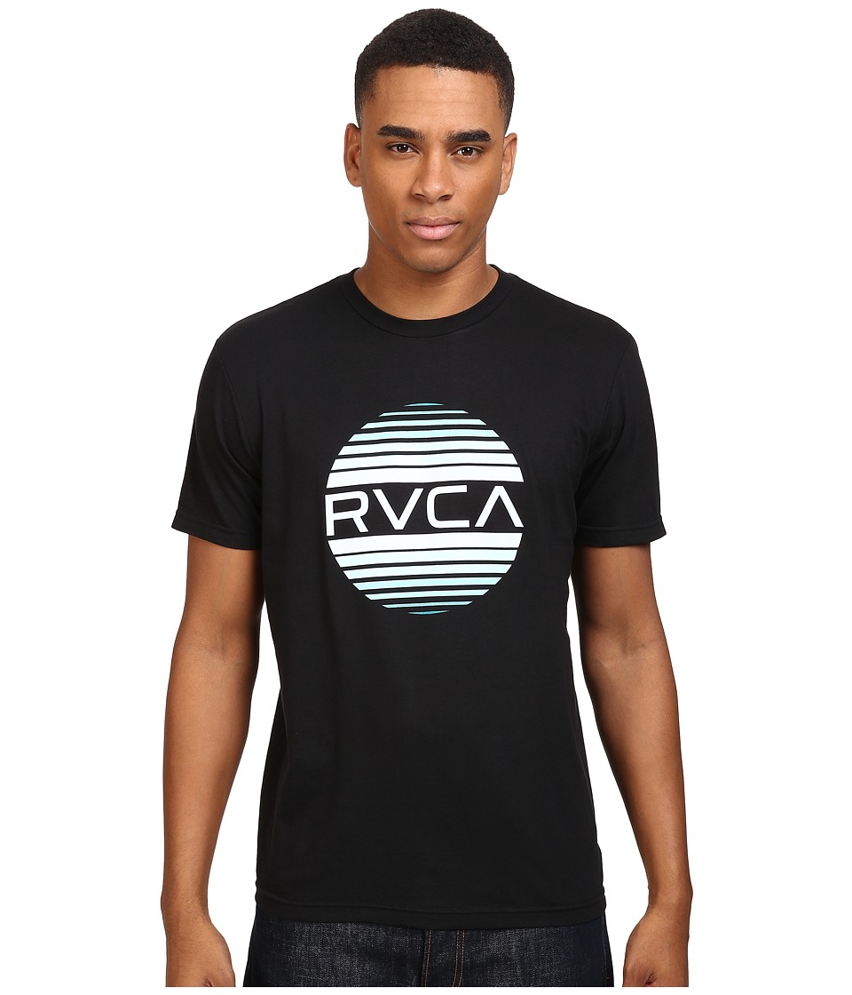 RVCA Sanborn Gradient Tee (Black) Men