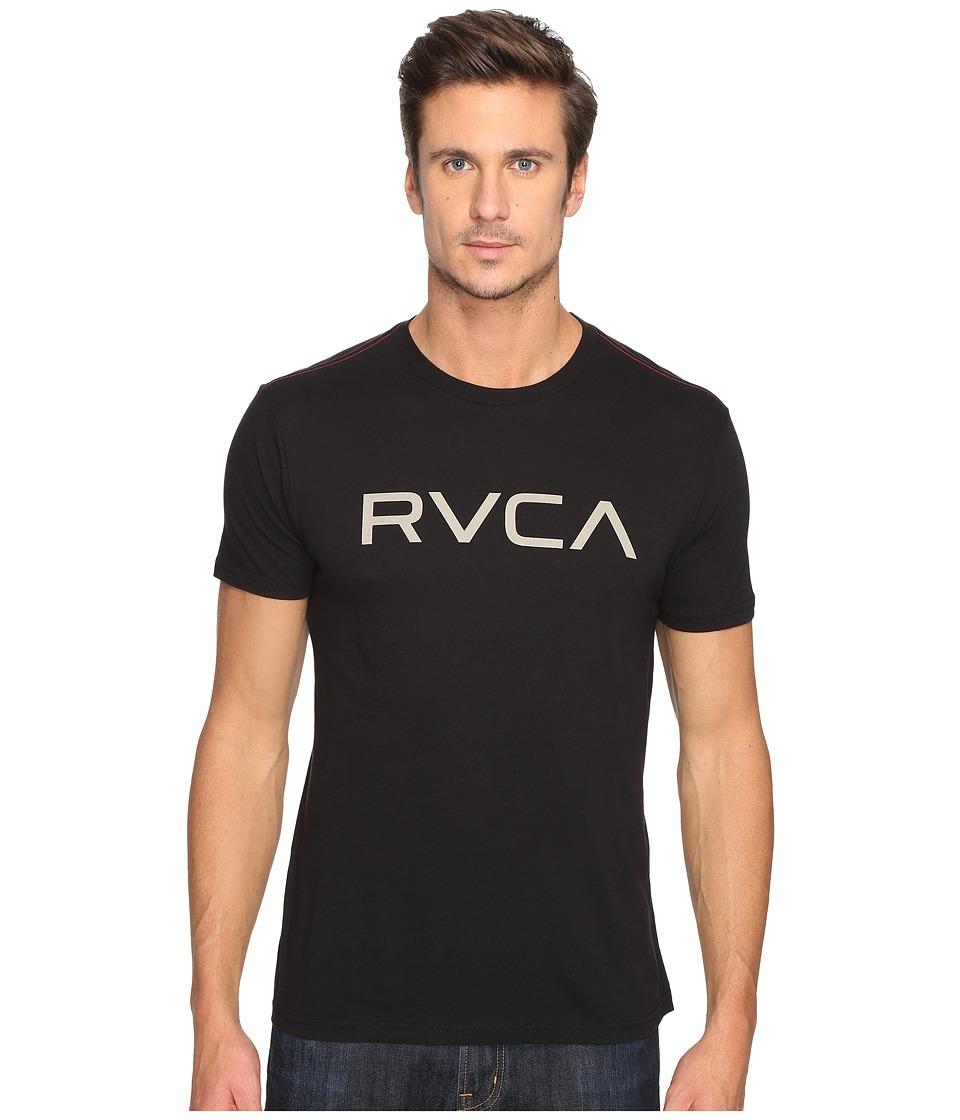 RVCA Big Vintage Wash Tee (Black) Men