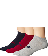 Emporio Armani - Stretch Cotton Color Basic 3-Pack Short Socks