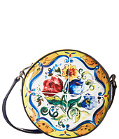 Dolce & Gabbana Kids - Back to School Printed Patent Crossbody