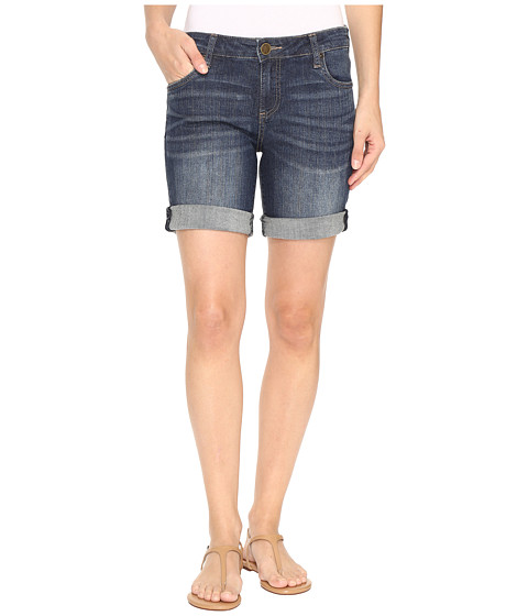 KUT from the Kloth - Catherine Boyfriend Shorts in Joyful (Joyful) Women's Shorts