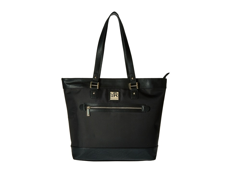 Kenneth Cole Reaction - Call It A Night - Nylon Tote (Black) Tote Handbags