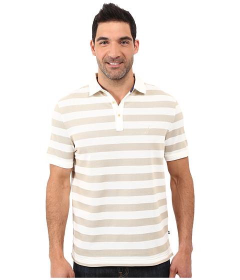Nautica Short Sleeve Strip Voyager Deck Polo Shirt