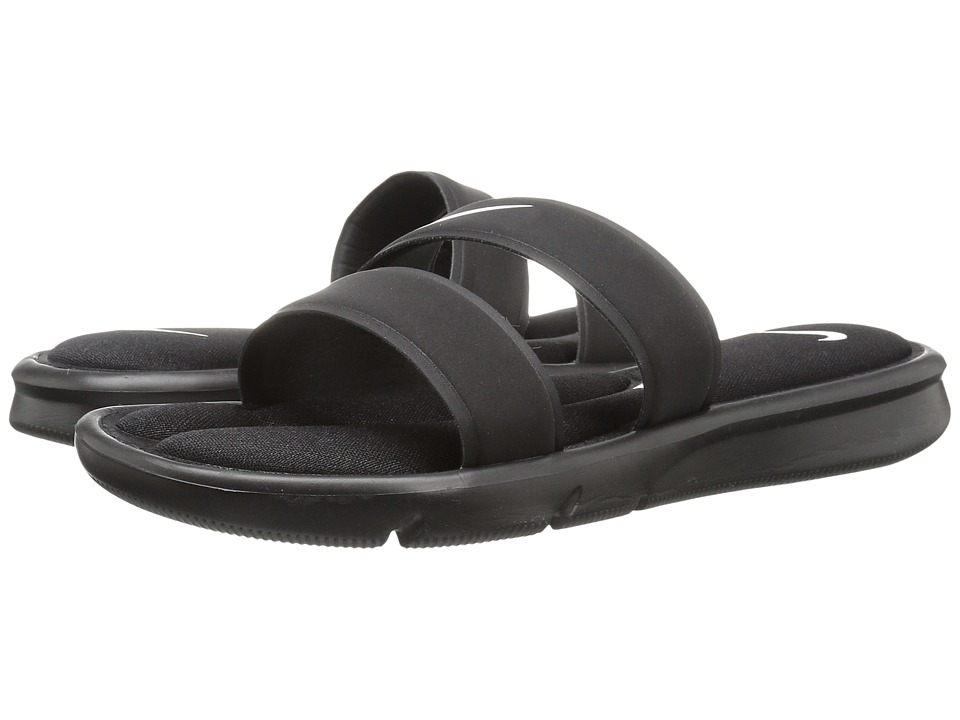 Nike Ultra Comfort Slide (Black/Black/White) Sandals