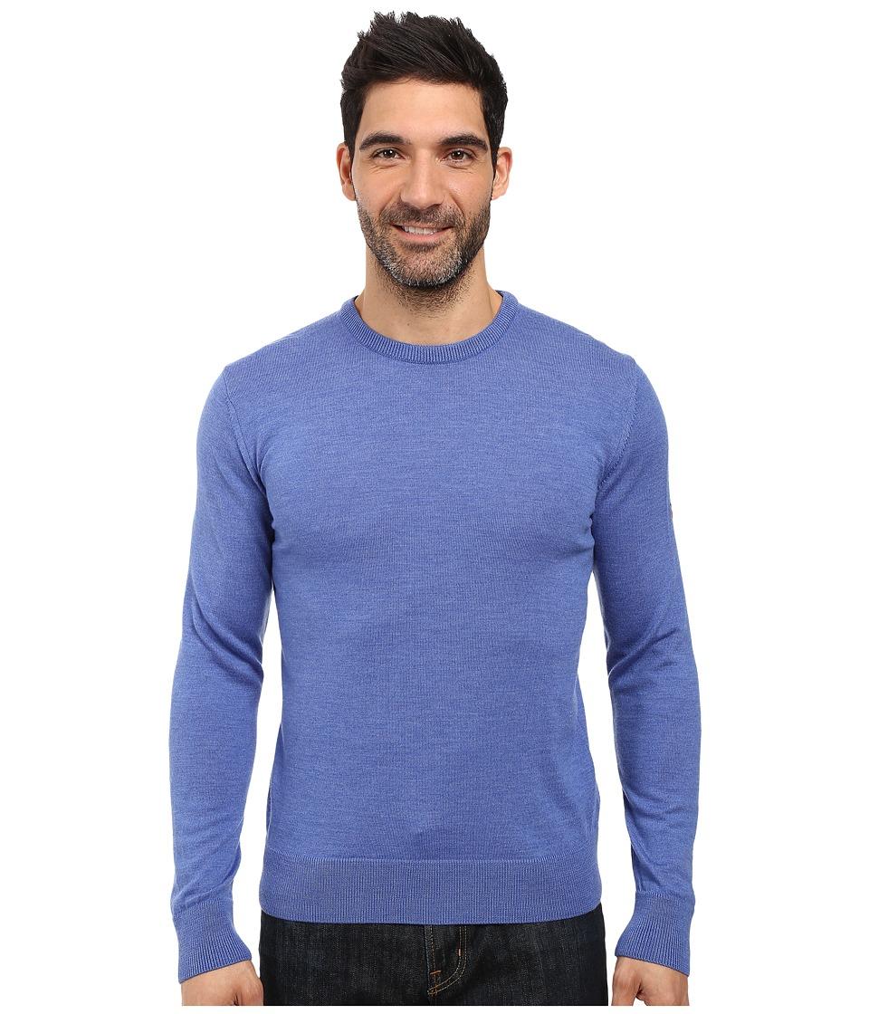 Dale of Norway Magnus Sweater (Medium Blue Melange) Men's...