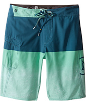 Volcom Kids - Lido Logo Mod Boardshorts (Big Kids)
