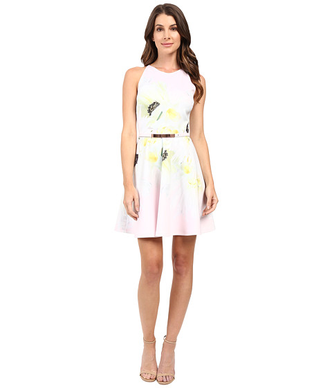 Ted Baker Tuliaa Pearly Petal Placement Skater Dress