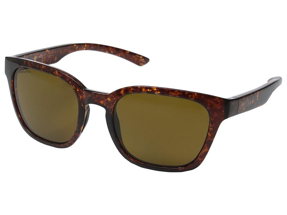 Smith Optics - Founder Slim (Vintage Havana/Polarized Brown) Fashion Sunglasses