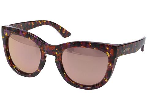 Smith Optics Sidney - Flecked Mulberry Tortoise/Rose Gold Mirror