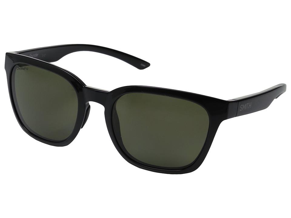 Smith Optics - Founder (Black/Polarized Gray/Green) Fashion Sunglasses