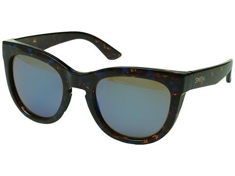 Smith Optics Sidney - Flecked Blue Tortoise/Blue Flash Mirror