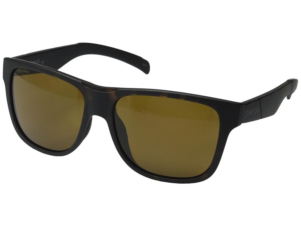 Smith Optics Lowdown XL Matte Tortoise/Polarized Brown Fashion Sunglasses