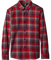 Volcom Kids - Hewitt Flannel Long Sleeve Shirt (Big Kids)