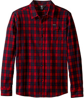 Volcom Kids - Fulton Long Sleeve Shirt (Big Kids)