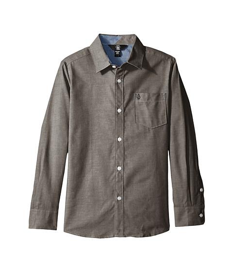 Volcom Kids Everett Oxford Long Sleeve Shirt (Big Kids)