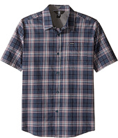 Volcom Kids - Kane Short Sleeve Shirt (Big Kids)