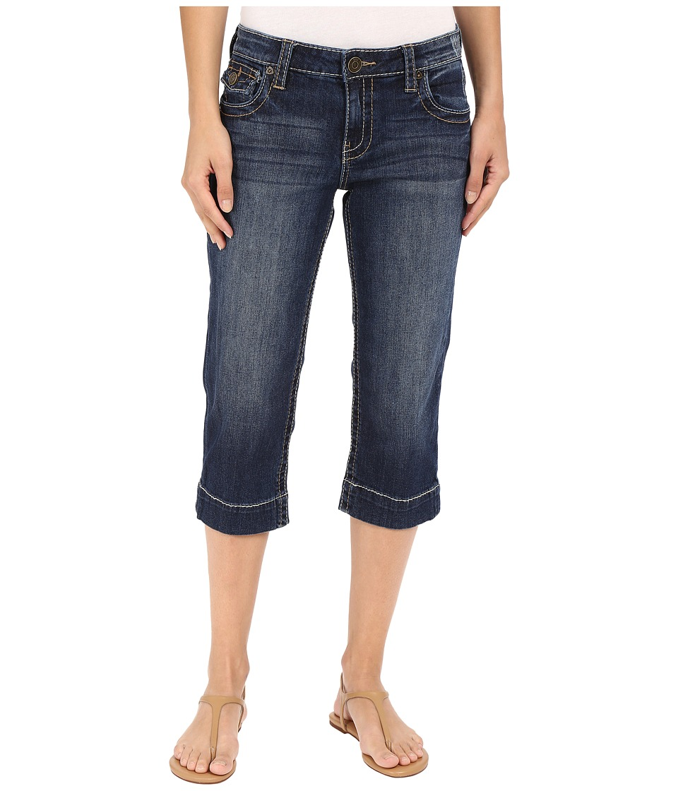 KUT from the Kloth Natalie Crop Jeans in Vagos Vagos Womens Jeans