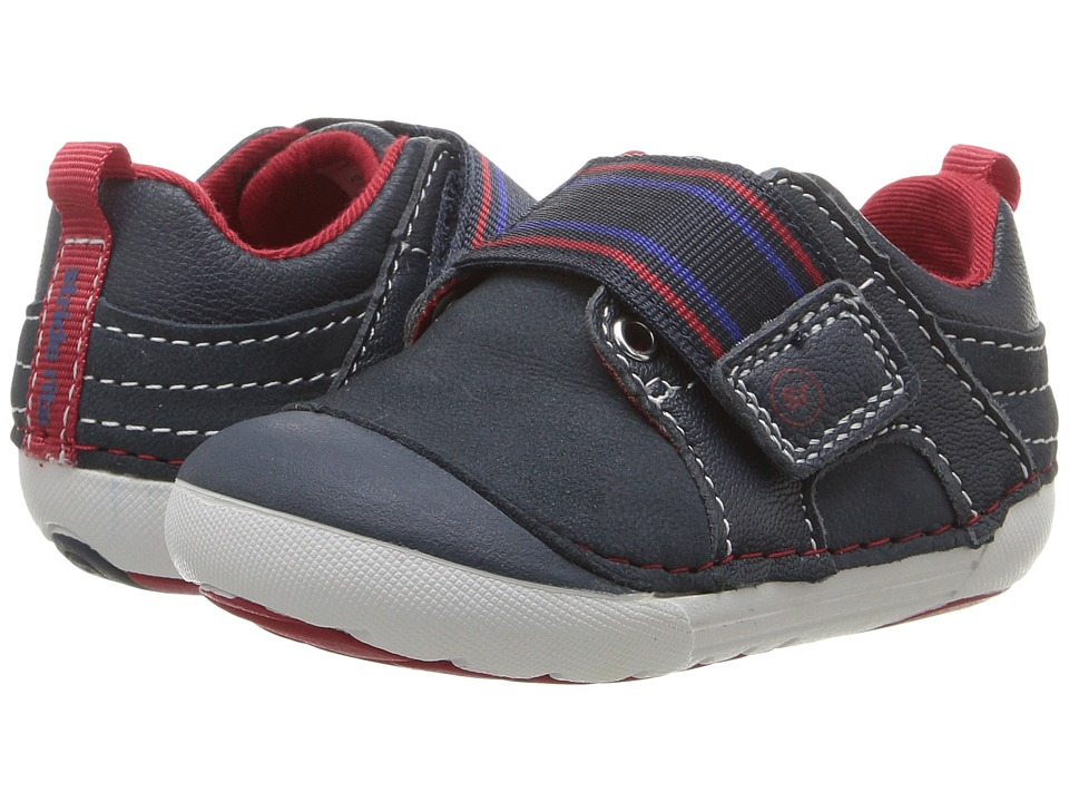 Stride Rite SM Cameron (Infant/Toddler) (Navy) Boy's Shoes