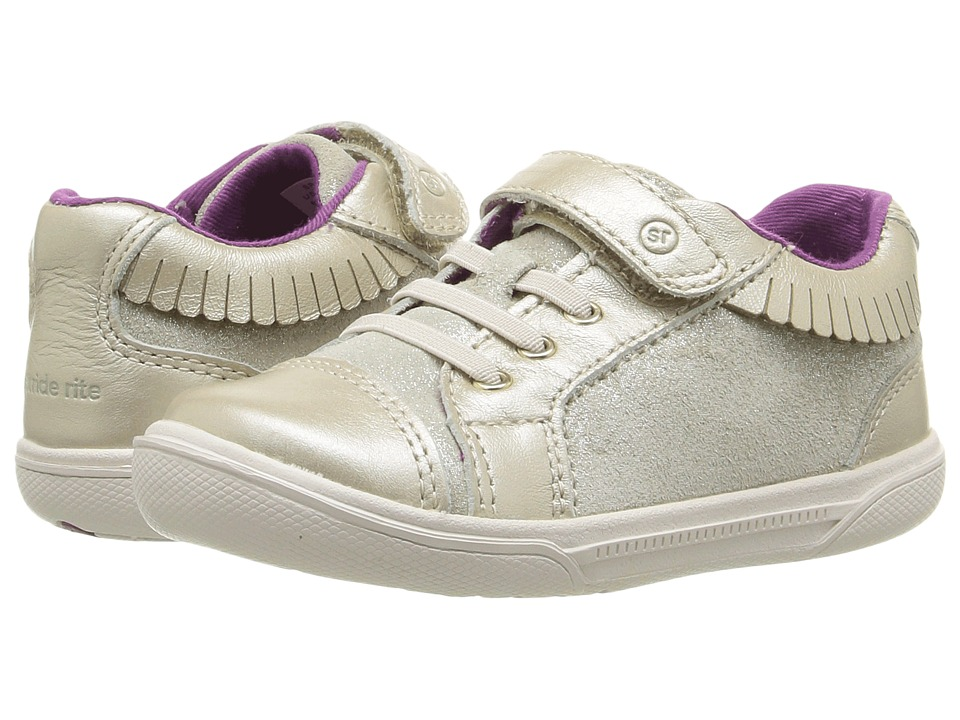 Stride Rite Perri (Infant/Toddler) (Champagne) Girl's Shoes