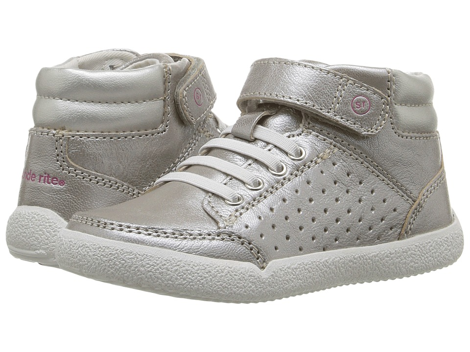 Stride Rite Stone (Toddler) (Silver) Kid's Shoes
