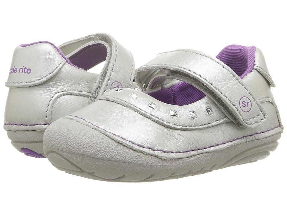 Stride Rite SM Arabelle (Infant/Toddler) (Silver) Girl's Shoes