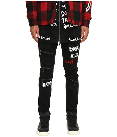 Haculla Distressed Patch Jeans
