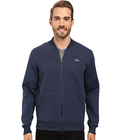 Lacoste - L!ve Long Sleeve Double Face Hybrid Bomber Sweatshirt