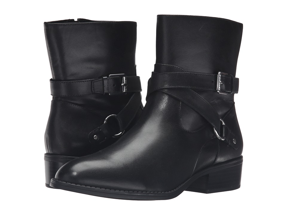 LAUREN Ralph Lauren Makalia (Black Burnished Calf) Women