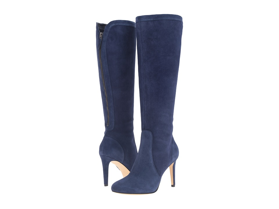 Nine West Holdtight (Navy Suede) Women