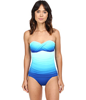 Bleu Rod Beattie - Fun in the Sun Twist Bandeau Mio One-Piece w/ Molded Cups