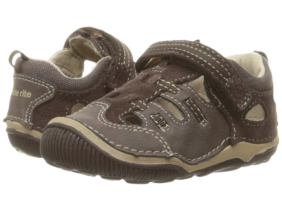 Stride Rite SRT Reggie (Toddler) (Brown) Boys Shoes