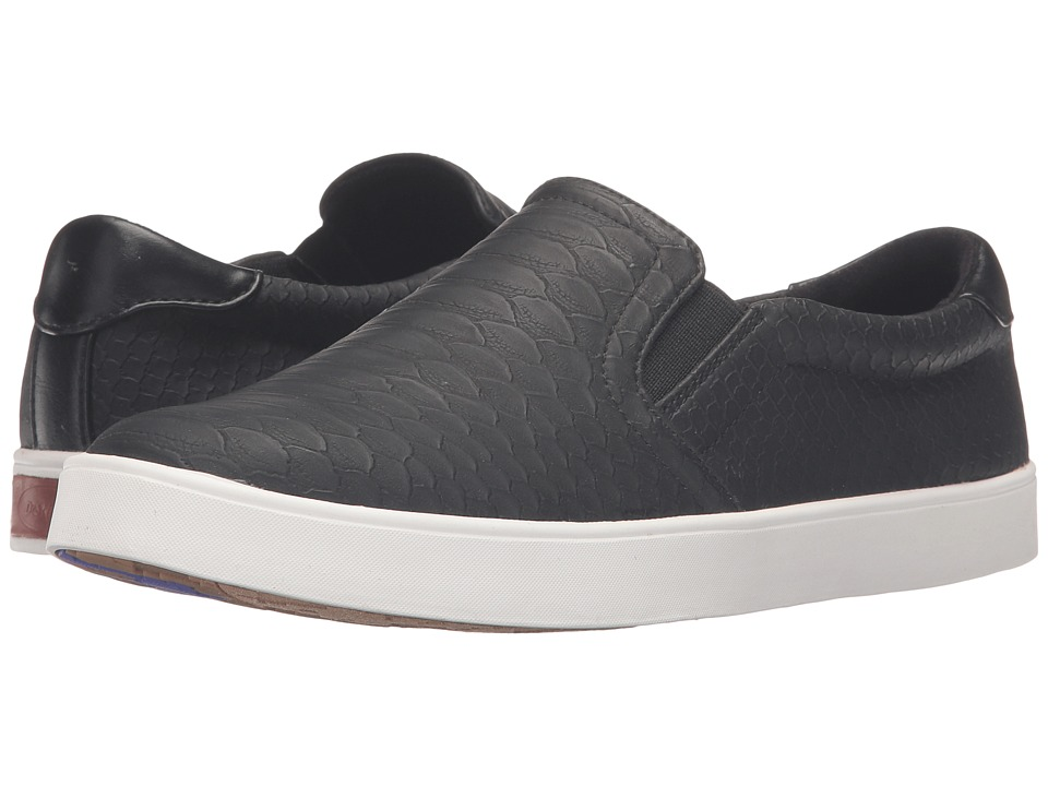 Dr. Scholl's Madison (Black Python) Women's Shoes