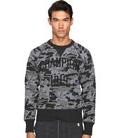 Todd Snyder + Champion - Camo Print Sweatshirt