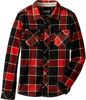O'Neill Kids - Glacier Big Plaid Long Sleeve Shirt (Little Kids)