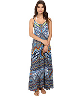 Red Carter - Beach Babe Rayon Full Length Dress Cover-Up