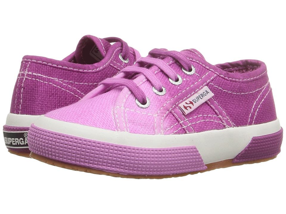 Superga Kids - 2750 COTJ Shade (Infant/Toddler/Little Kid/Big Kid)) (Pink/Maroon) Girls Shoes