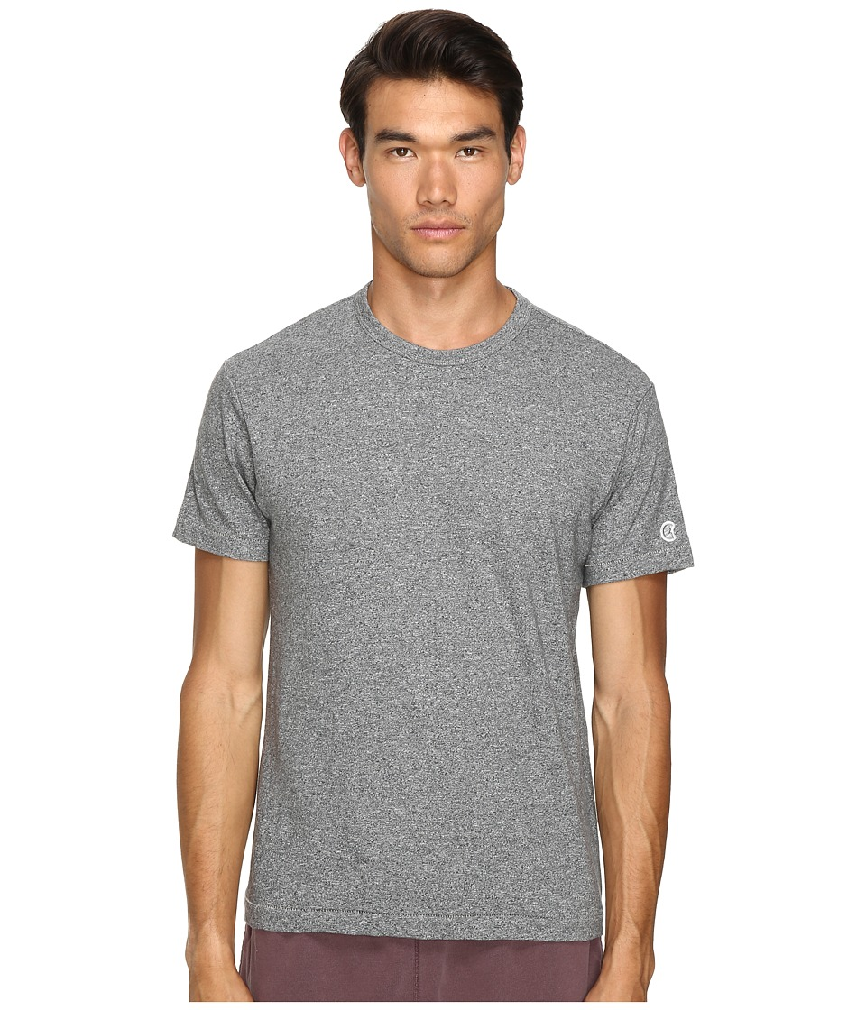 Todd Snyder + Champion - Heathered Basic Tee (Salt/Pepper) Mens T Shirt