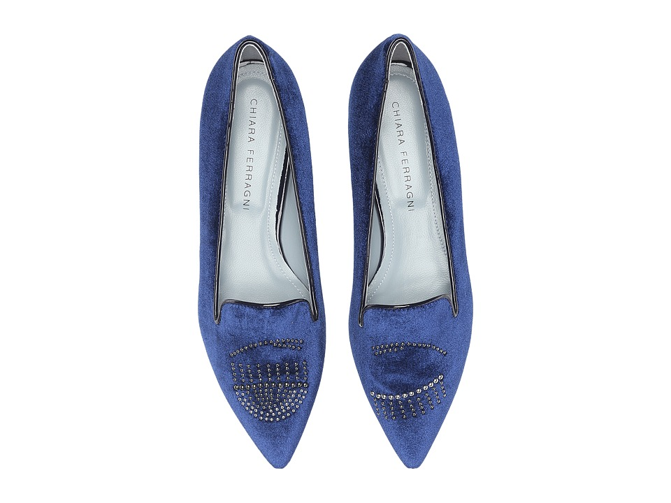 Chiara Ferragni - CF1229 (Navy) Women's Shoes