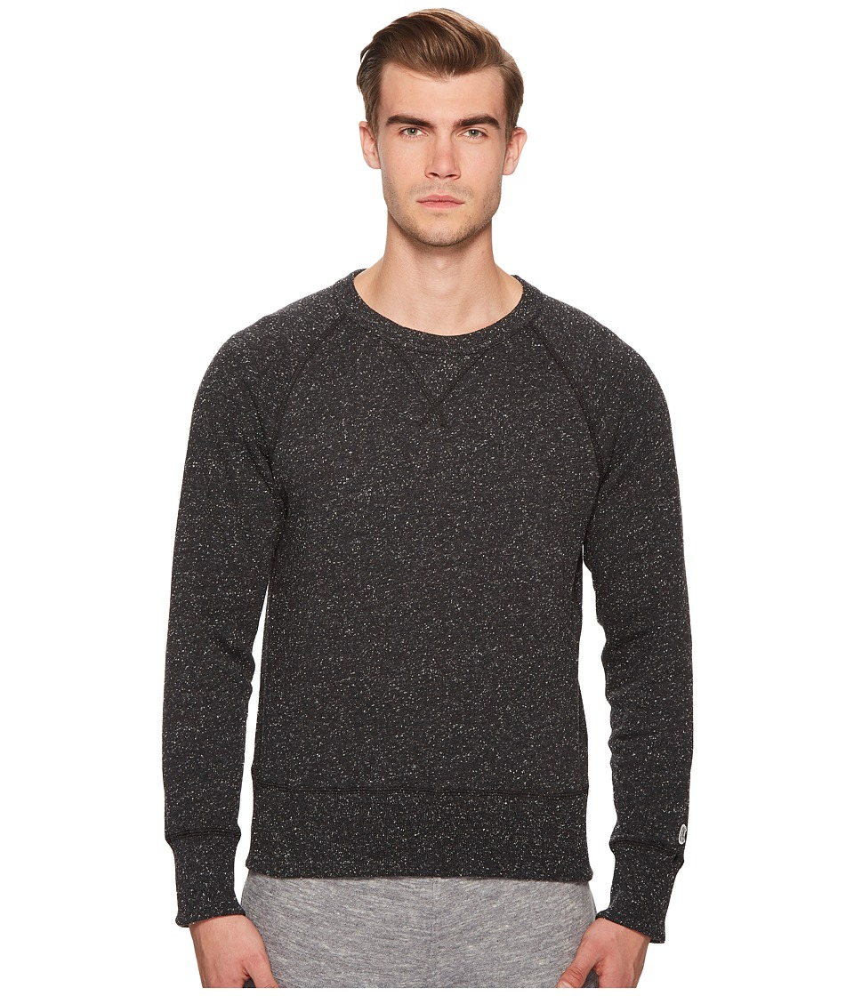 Todd Snyder + Champion - Snow Heather Sweatshirt (Black) Mens Sweatshirt