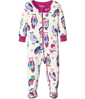 Hatley Kids - Happy Owls Footed Coverall (Infant)