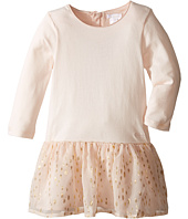 Chloe Kids - Bi Material Dress w/ Gold Piping (Infant)